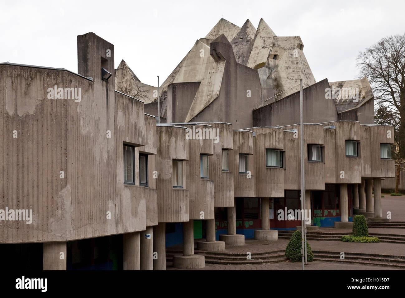 Brutalismus stockfotos brutalismus bilder alamy for Architektur brutalismus