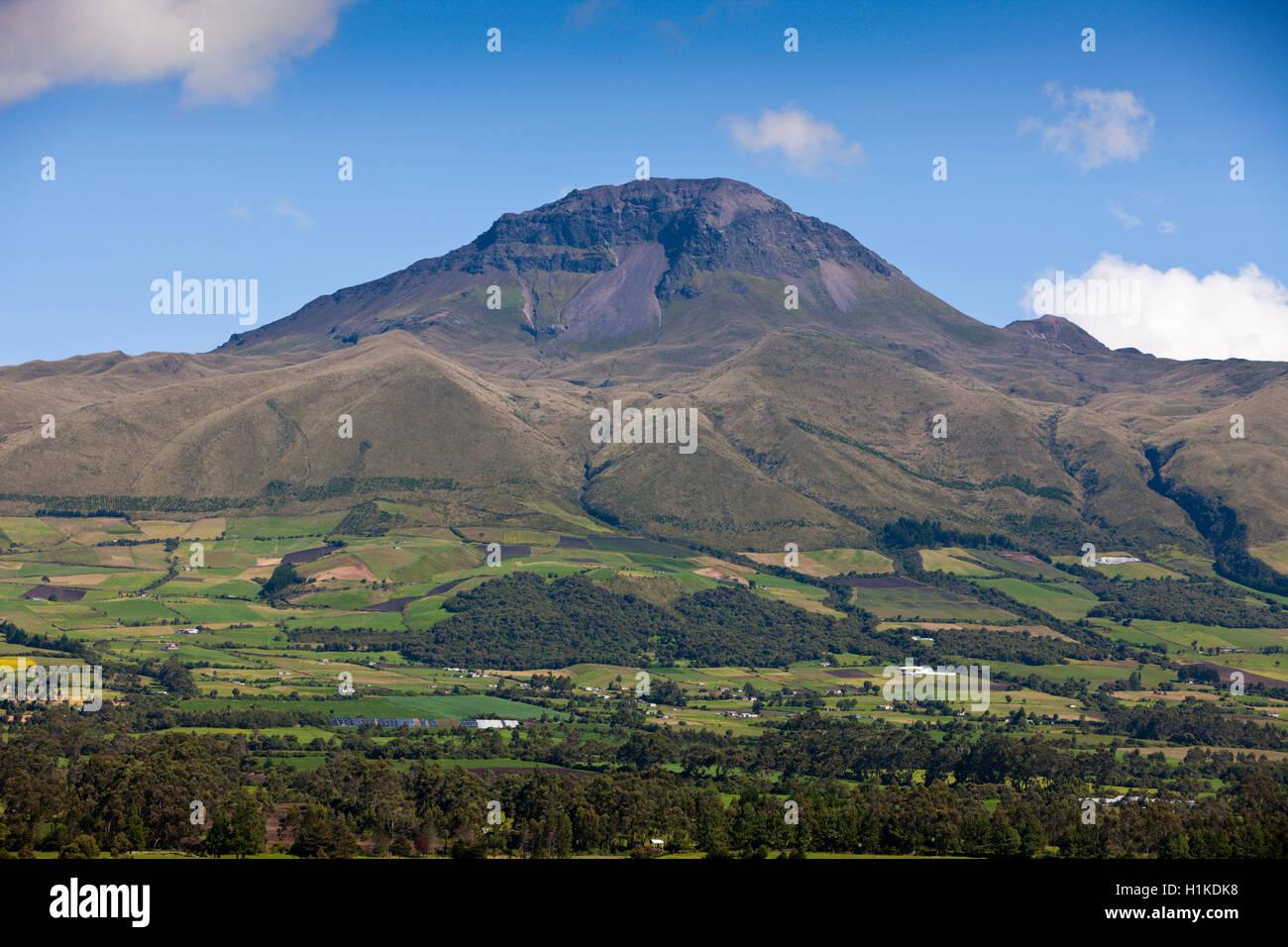 Corazon Vulkan Cotopaxi-Nationalpark in Ecuador Stockbild