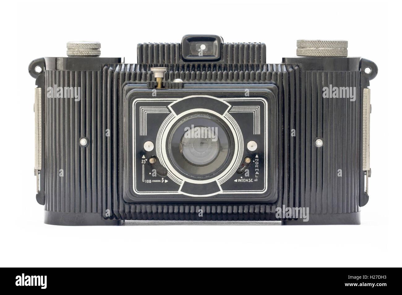 Kamera der fünfziger Jahre Stockbild