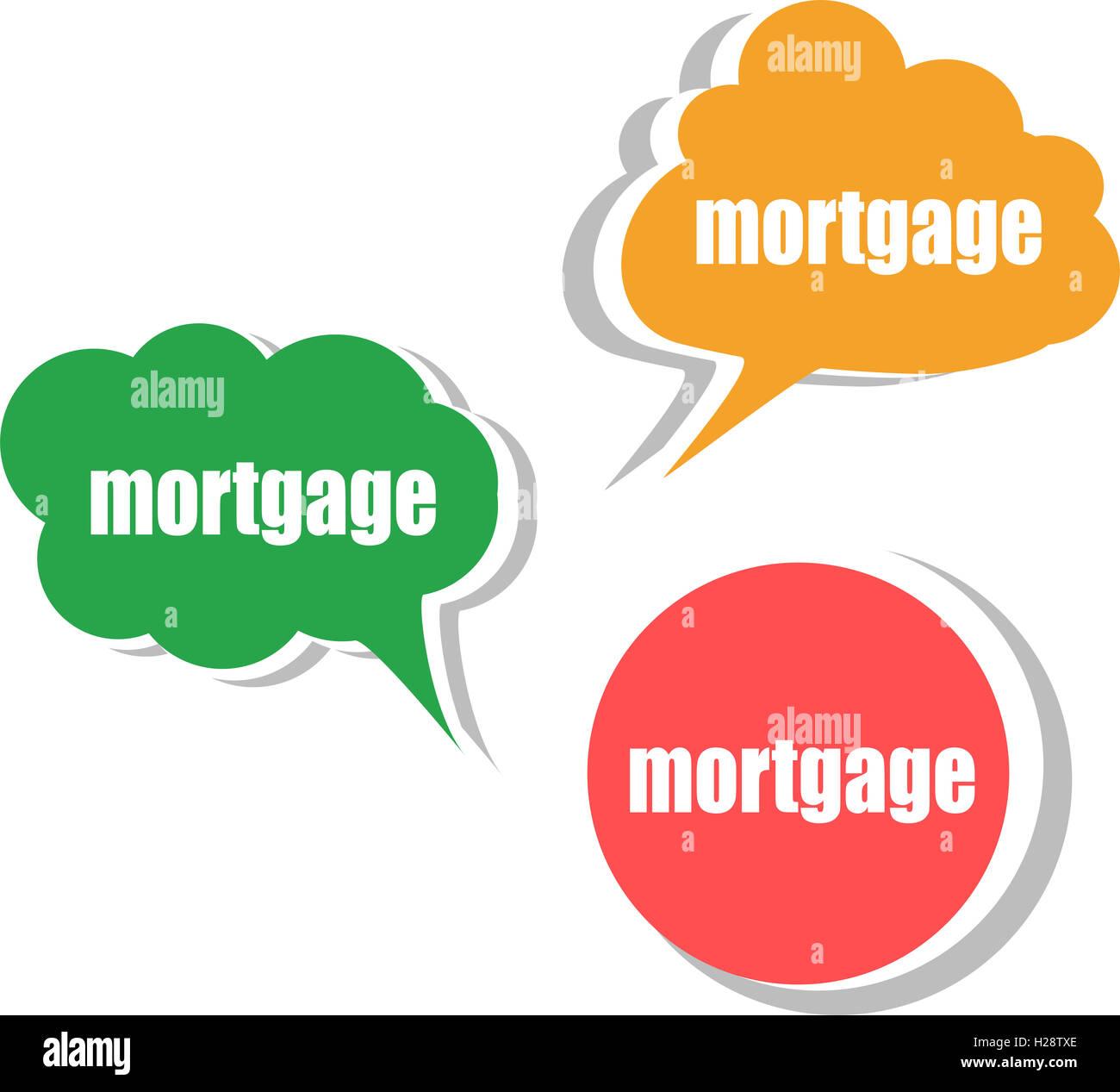 Mortgage Word Cloud Stockfotos & Mortgage Word Cloud Bilder - Alamy