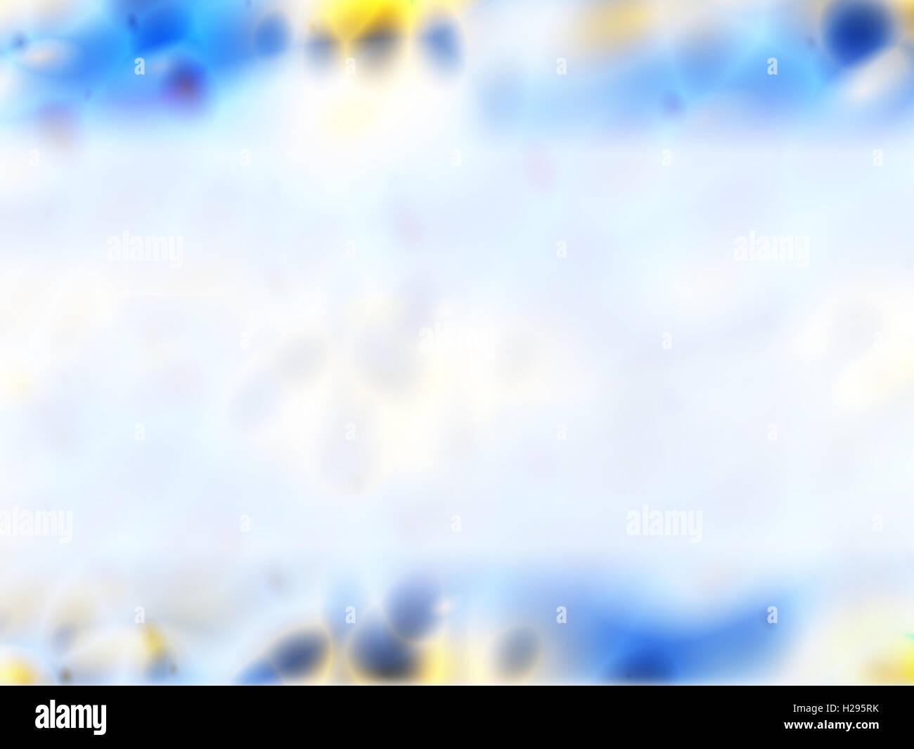 Blau, gelb, weiß abstrakten Hintergrund für ppt-Vorlage, Abdeckung ...