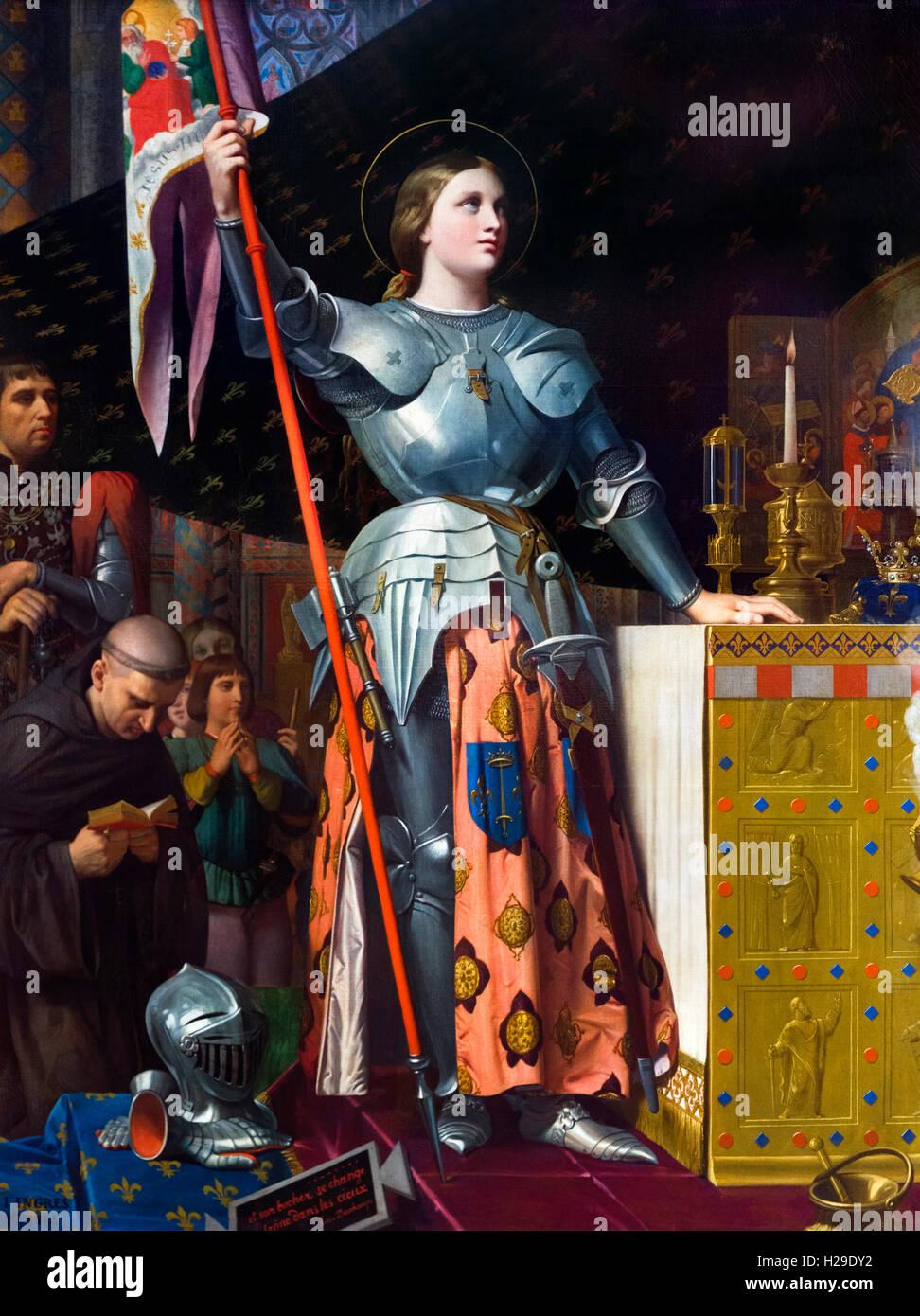 Jeanne d ' arc Stockbild