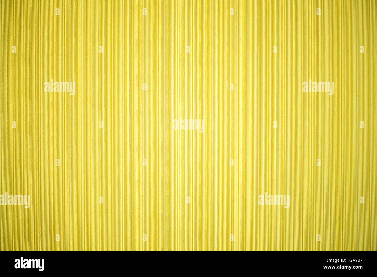 gelb gestreift strukturierte Tapete Stockbild