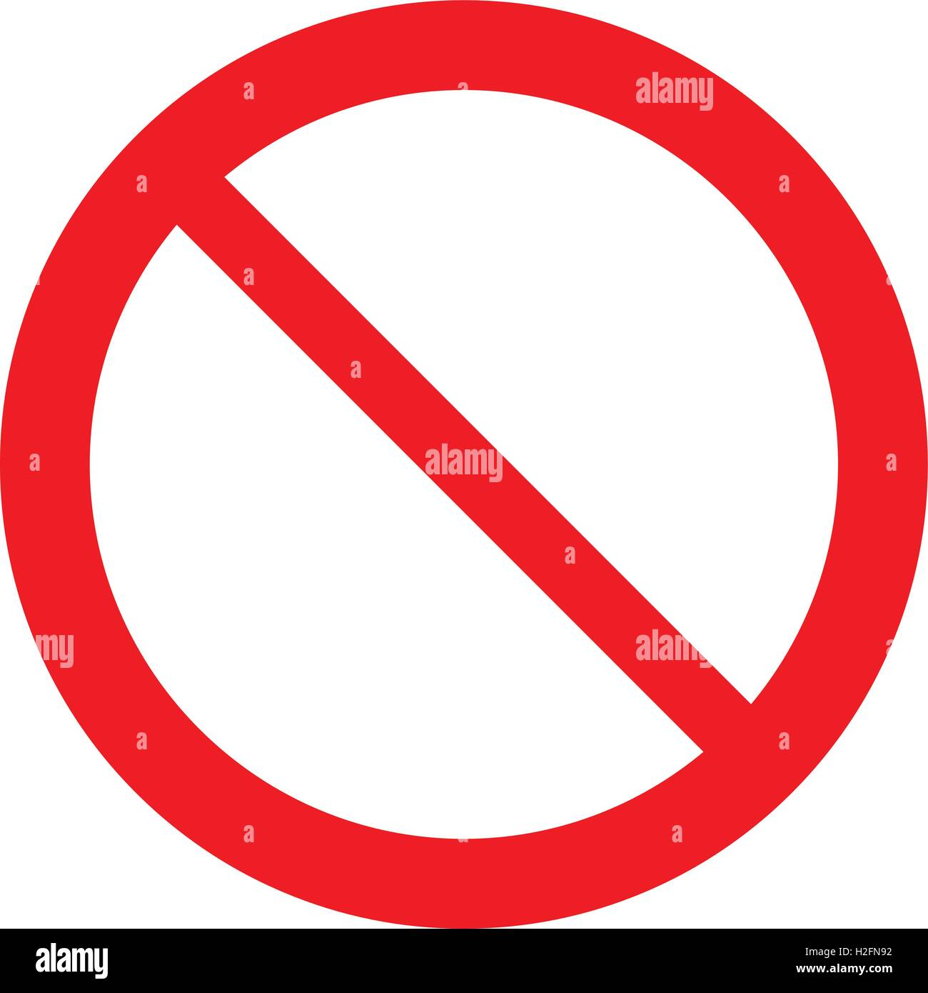 Prohibit Vector Vectors Stockfotos & Prohibit Vector Vectors Bilder ...