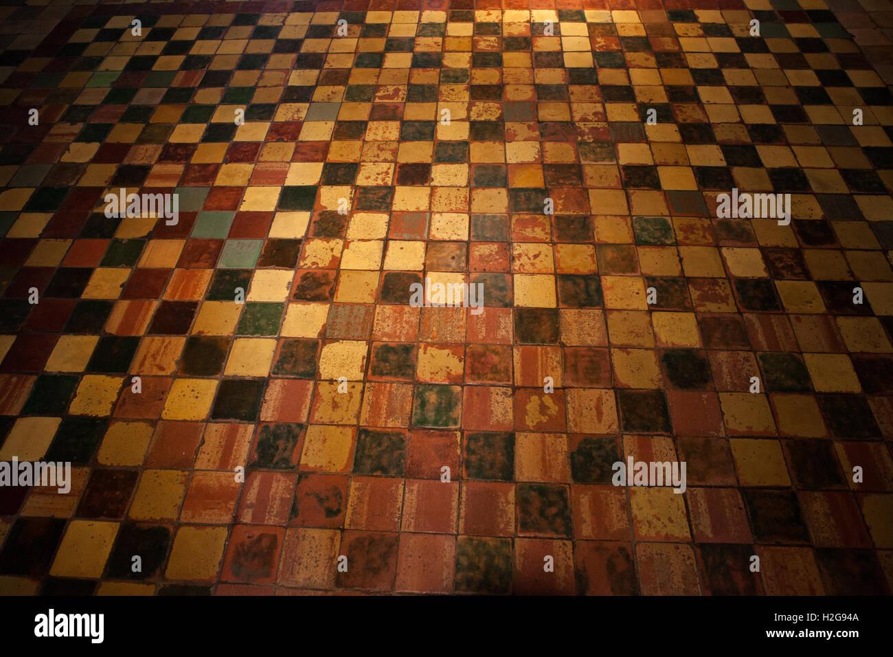 Favorit Grunge gruselig gruselige Vintage Fliesen Boden-Hintergrund-Design YI88