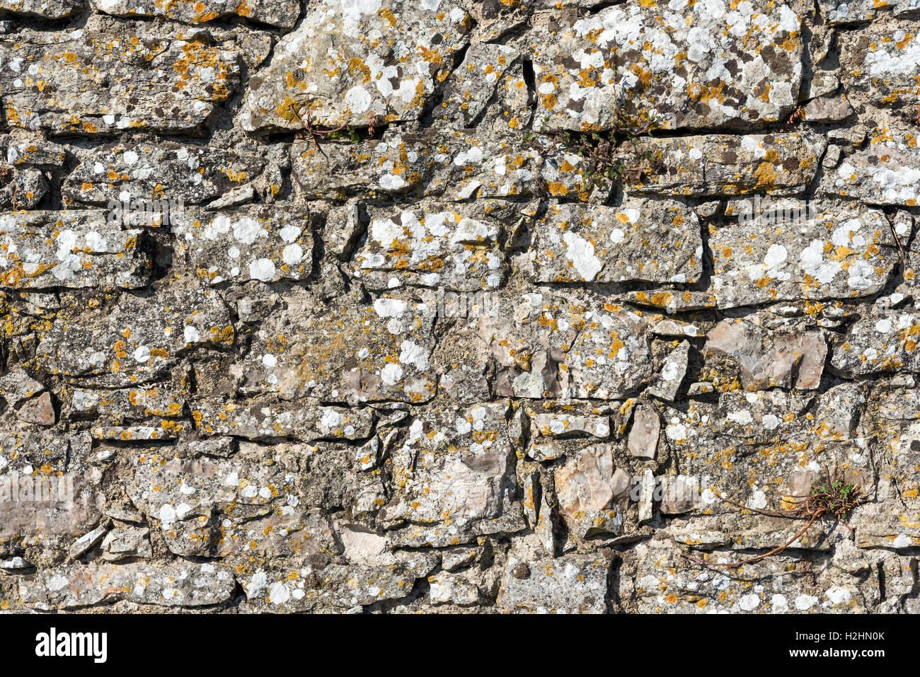 Hintergrund Von Einer Rauen Wand Aus Naturstein