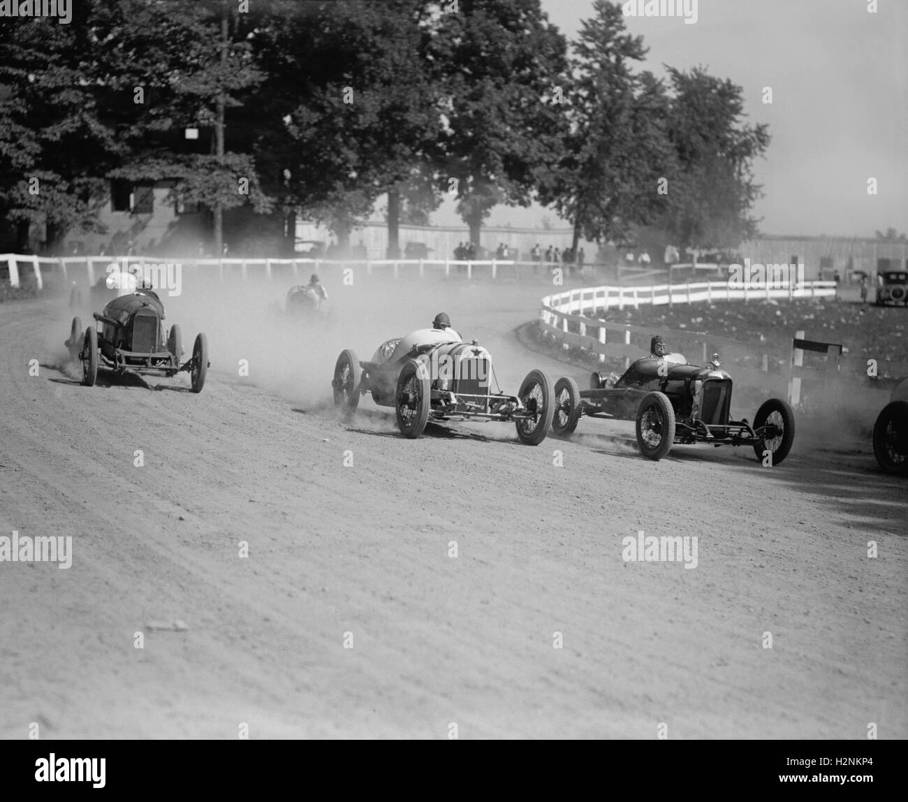 Auto Rennen, Rockville Messe, Rockville, Maryland, USA, National Photo Company, August 1923 Stockbild
