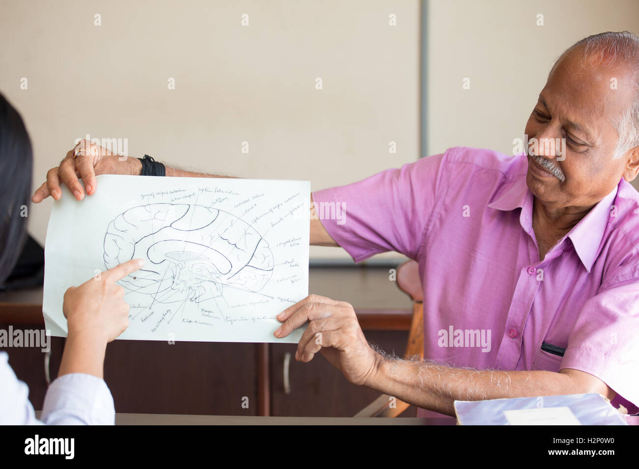 Professor In Anatomy Lecture Stockfotos & Professor In Anatomy ...
