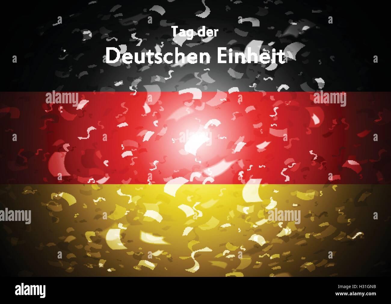 Tag der deutschen Einheit abstrakte Muster. Tag der Deutschen ...