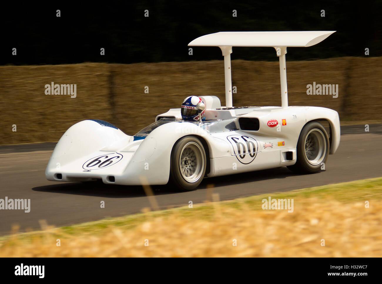 Can Am Race Historic Race Cars Stockfotos Can Am Race Historic
