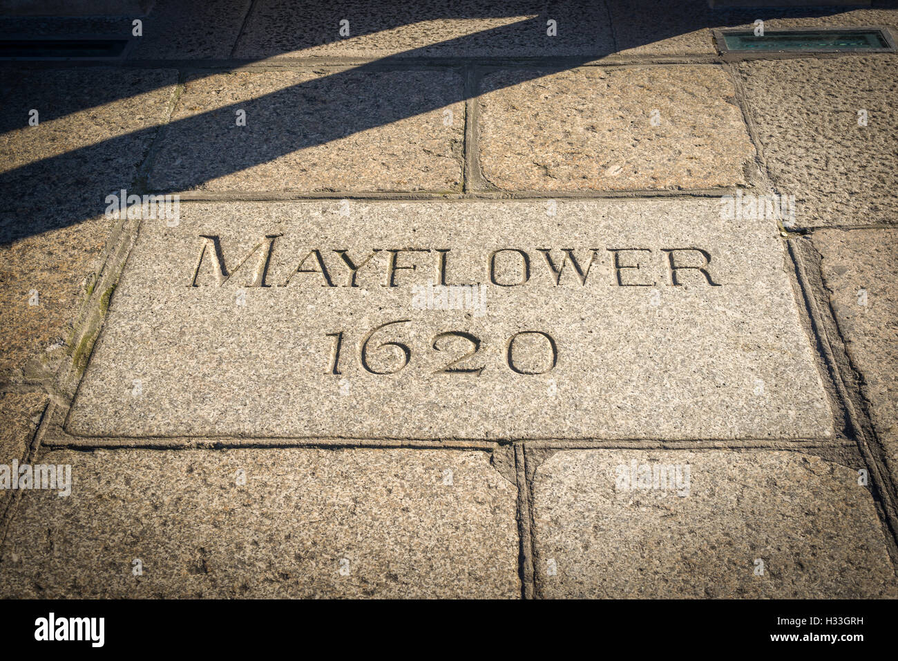 Mayflower 1620 Stockbild