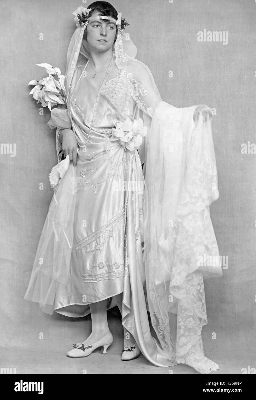 Brautmode, 1920 Stockfoto, Bild: 122455922 - Alamy