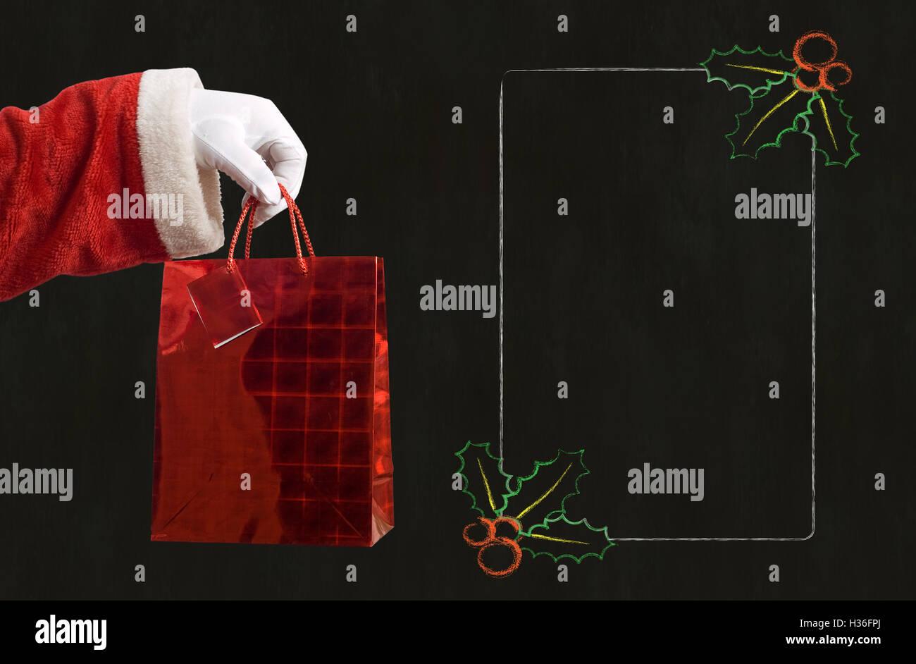 Vater Weihnachtsgeschenk und Notizen Stockfoto, Bild: 122460650 - Alamy