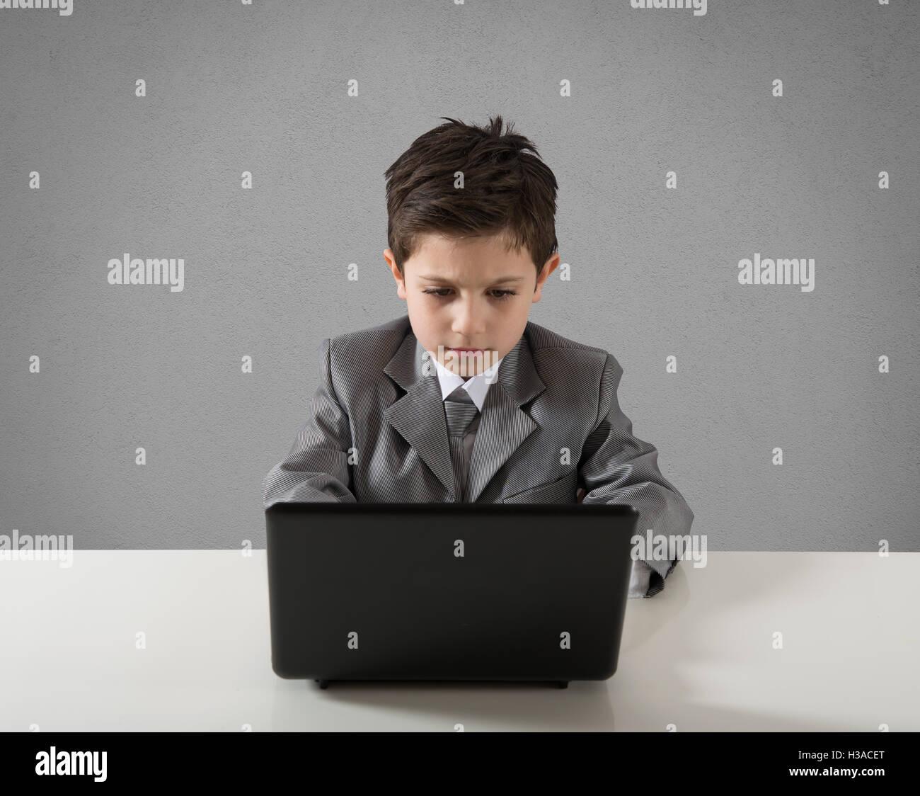 Junge Unternehmer Stockbild