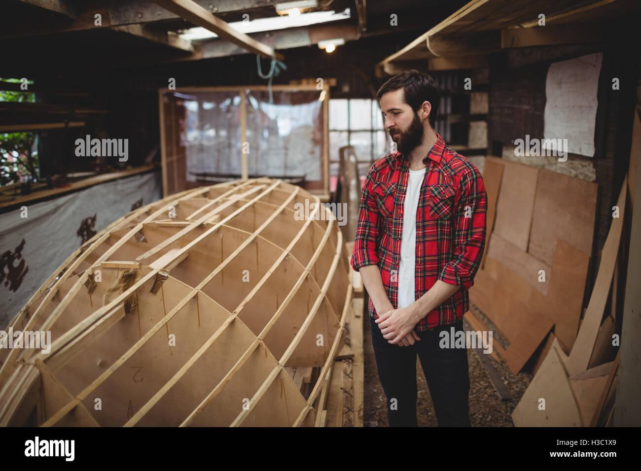 Boat Making Workshop Stockfotos & Boat Making Workshop Bilder - Alamy