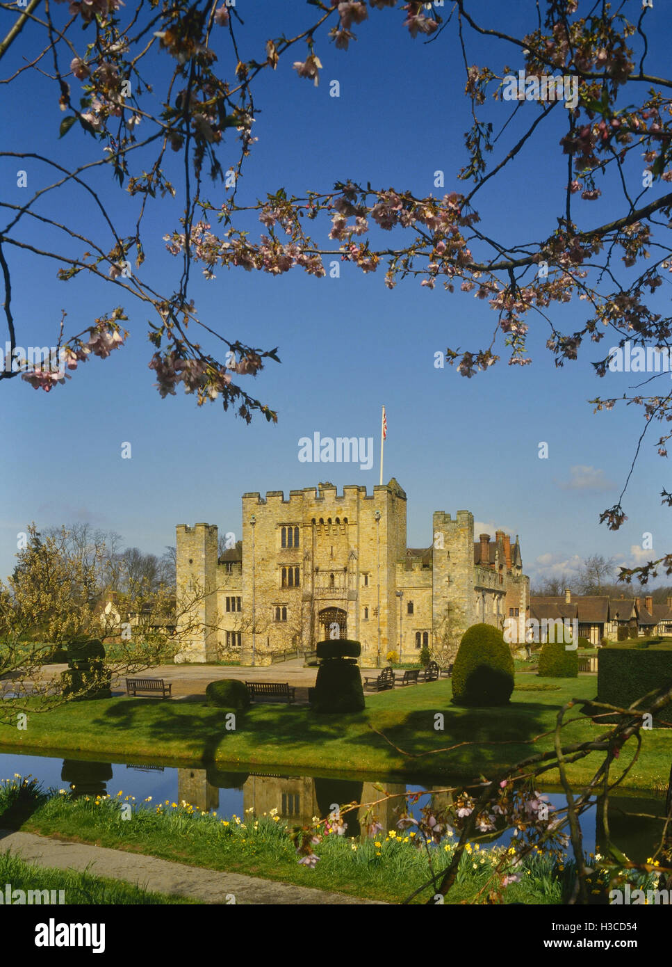 Hever Castle, Kent. England. UK Stockbild
