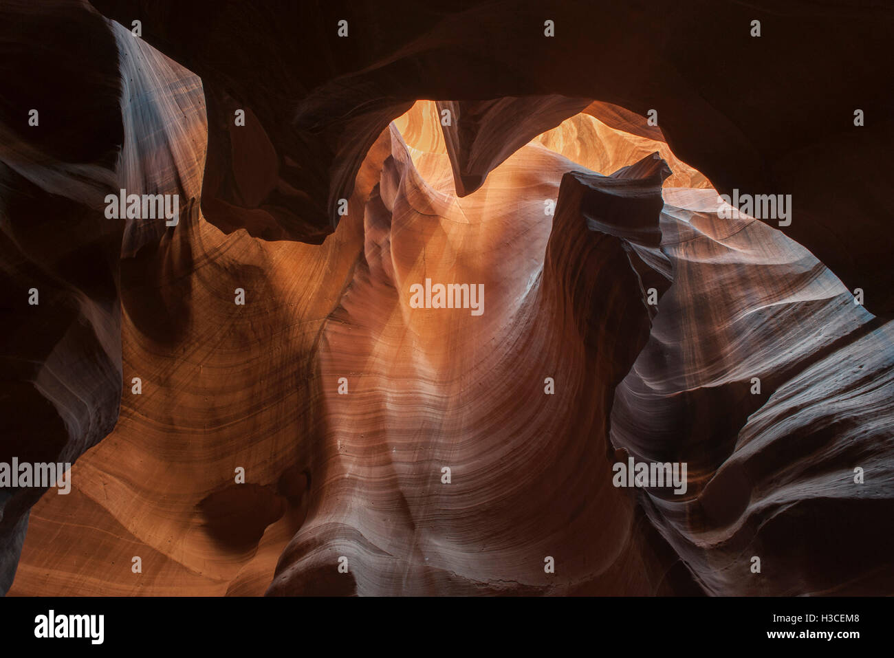 Antelope Canyon, einem Slotcanyon in Arizona, USA Stockfoto