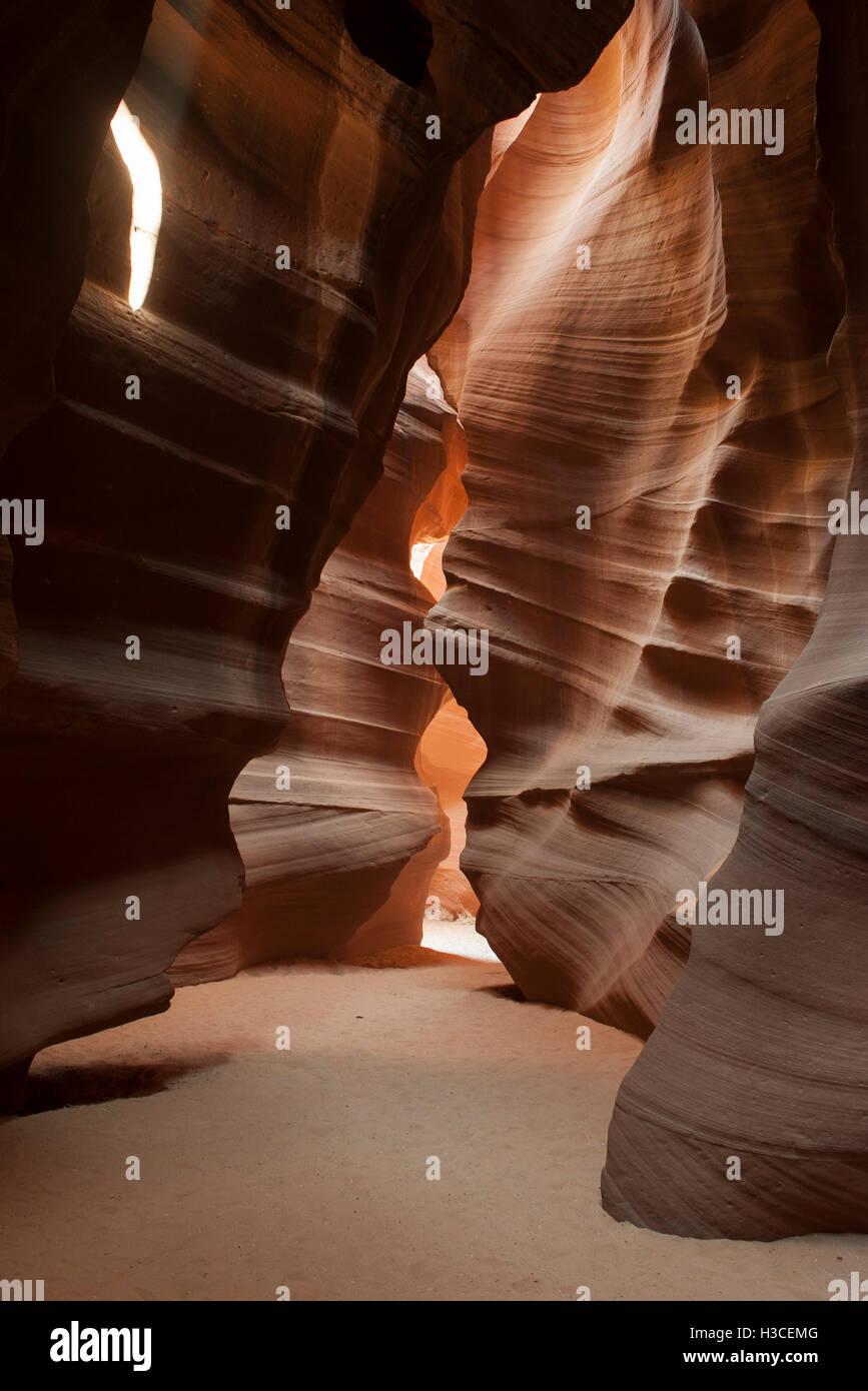 Antelope Canyon, einem Slotcanyon in Arizona, USA Stockfoto