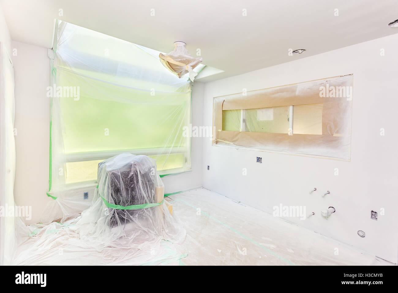 die wände grundieren stockfoto, bild: 122596415 - alamy
