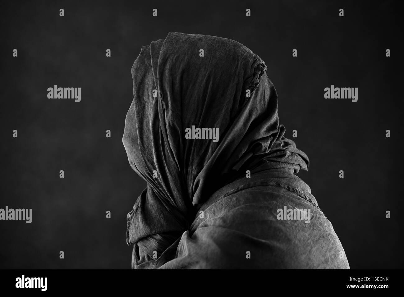 Geister in der Dunkelheit Stockfoto