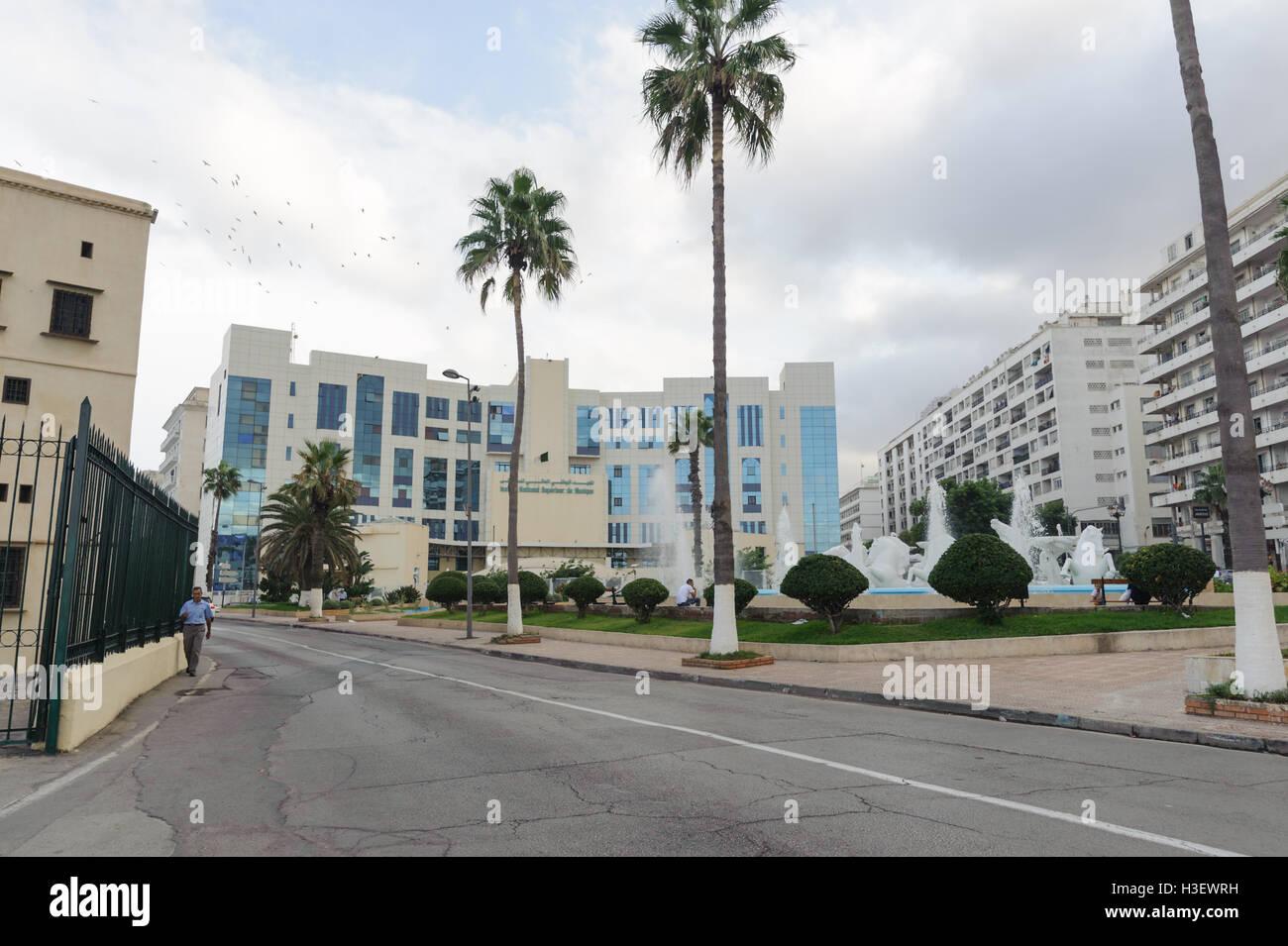 Nationales Institut für Musik von Algier. Institut befindet sich in der Nähe von Altstadt Kasbah. Stockbild