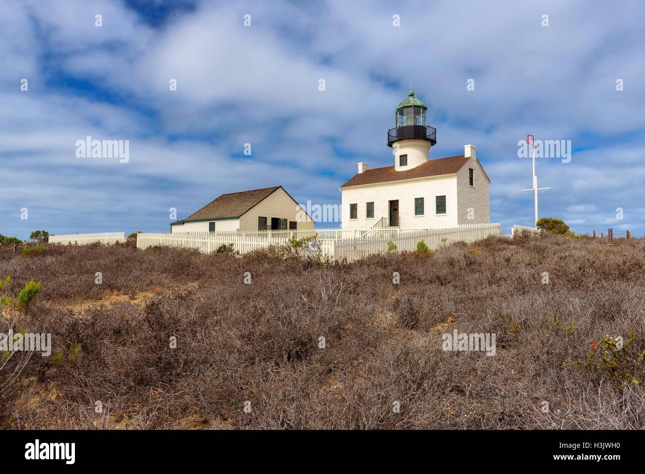 Die beliebtesten Leuchtturm San Diego, Kalifornien Stockbild