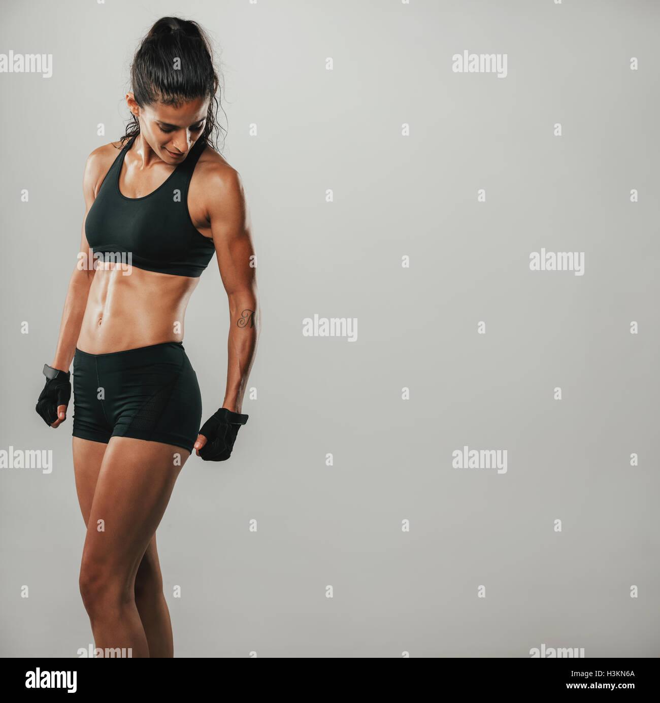 Schwarze reife muskulöse Frauen
