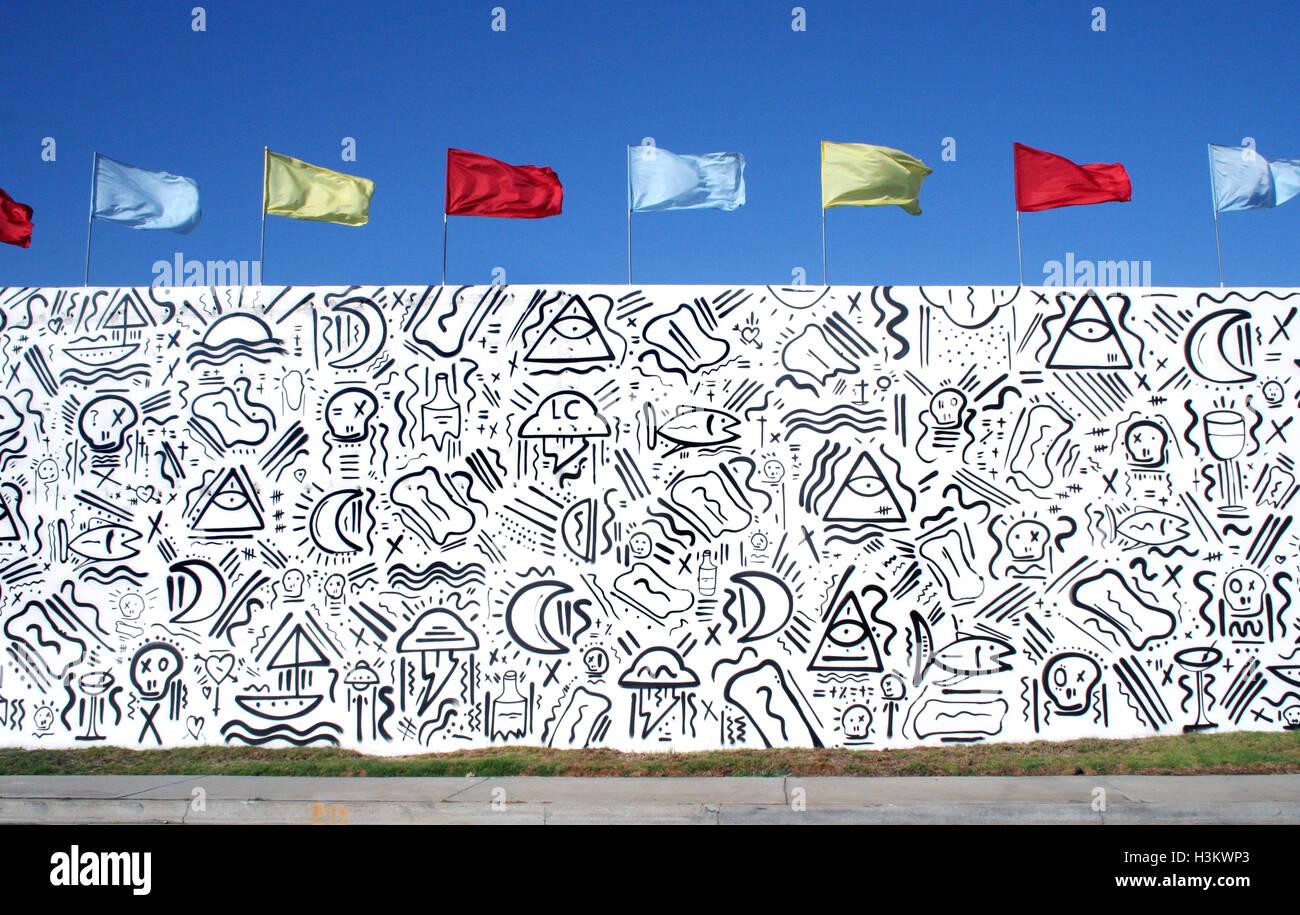 graffiti wall fish stockfotos graffiti wall fish bilder alamy. Black Bedroom Furniture Sets. Home Design Ideas
