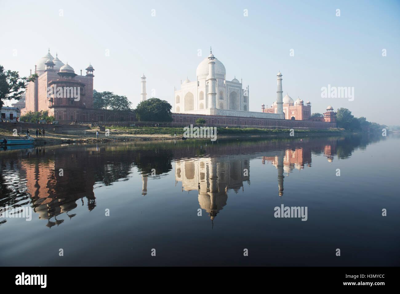 Taj Mahal, Rajasthan, Indien Stockbild