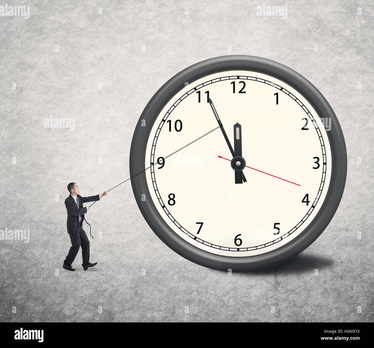 die Zeit zurückdrehen Stockfoto, Bild: 122784814 - Alamy