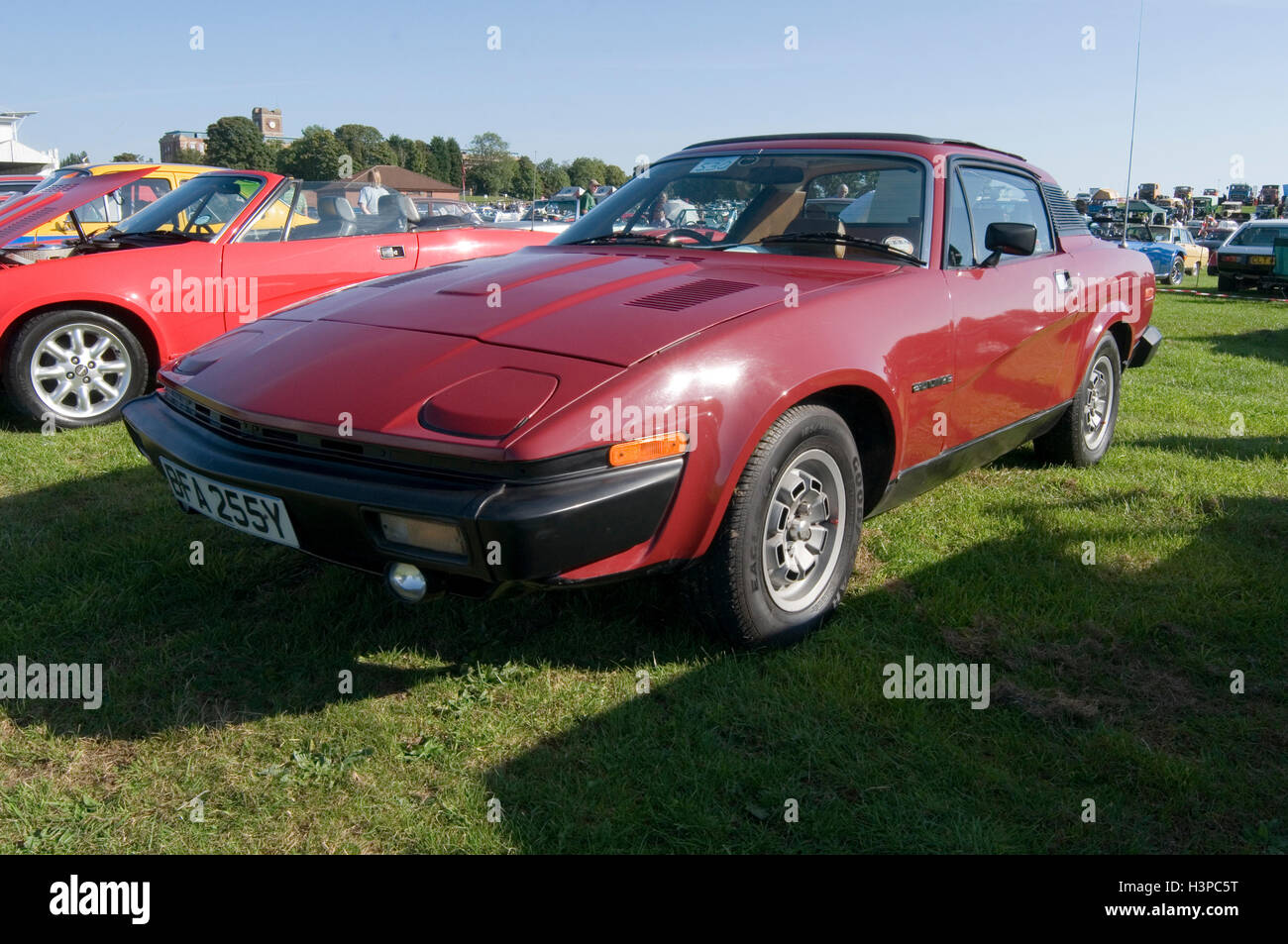 Triumph TR7 Sportwagen Sportscars britische 70er Jahre der 1970er Jahre Stockbild