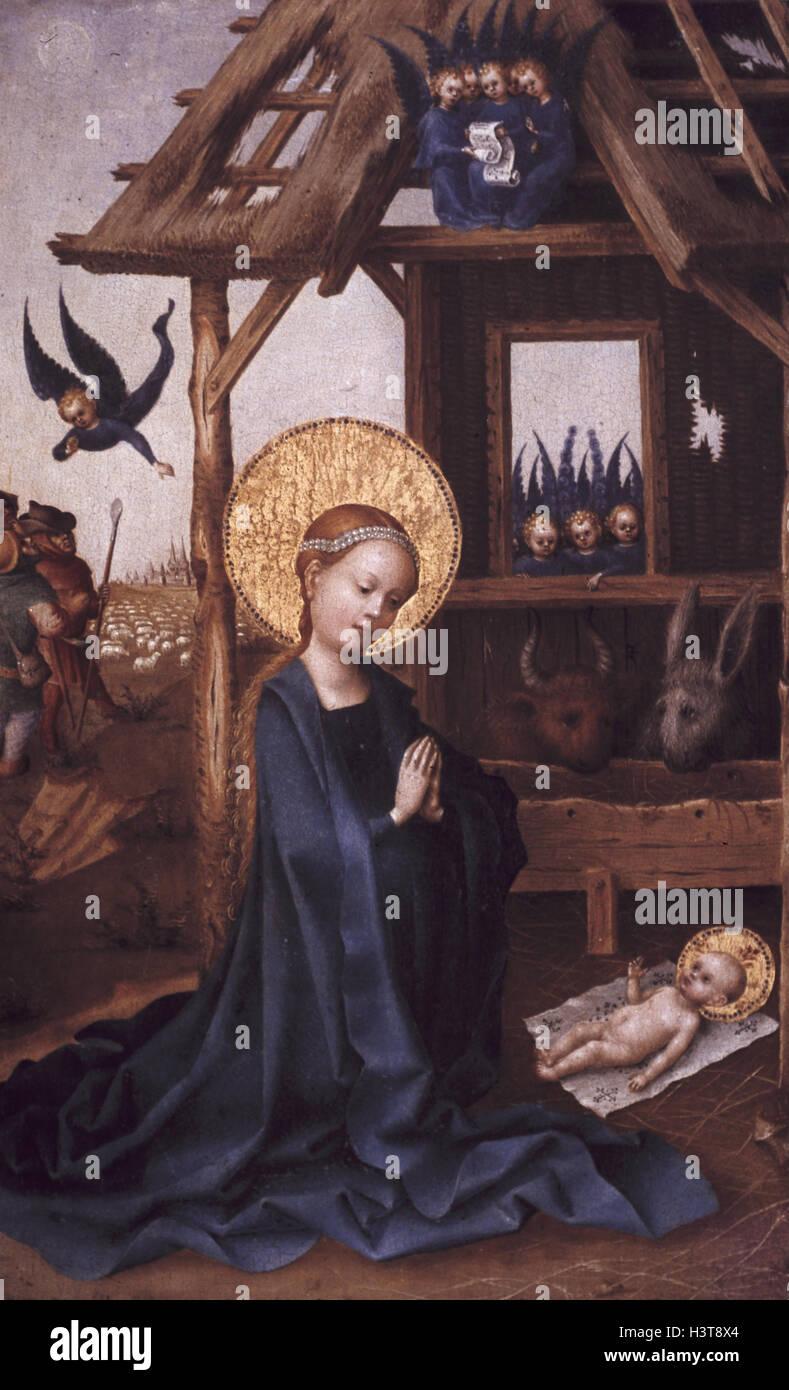 Künstler München Maler deutschland münchen alte pinakothek anbetung des kindes europa