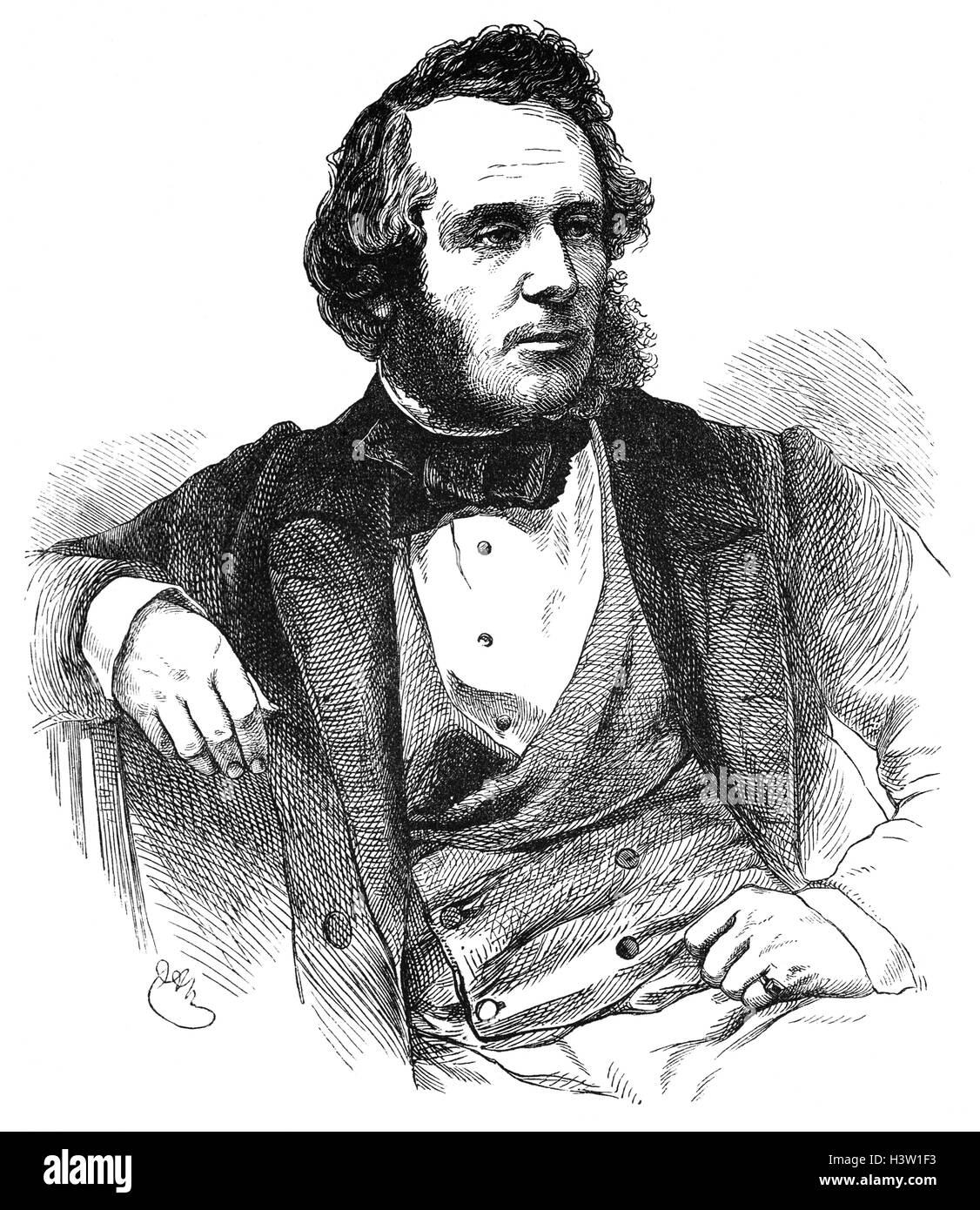 William Powell Frith RA (1819 ? 1909) war ein englischer Maler, spezialisiert auf Genre-Themen und Panorama erzählerischen Stockbild