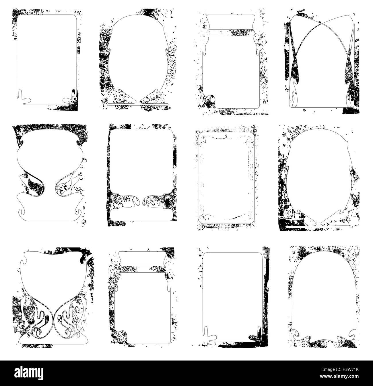 Tolle Vektor Rahmen Galerie - Benutzerdefinierte Bilderrahmen Ideen ...