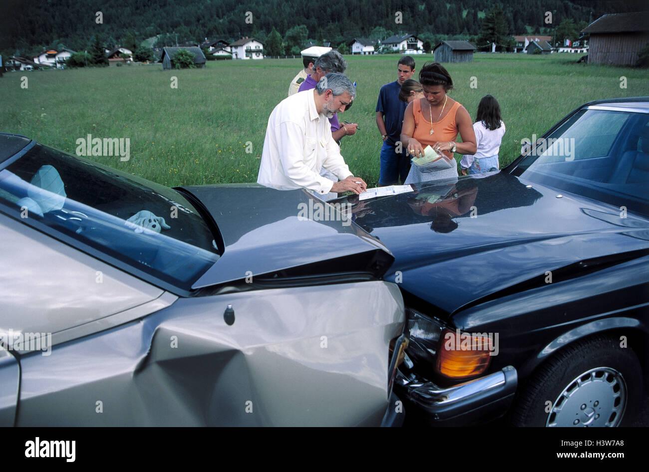 Accident Protocol Stockfotos & Accident Protocol Bilder - Alamy