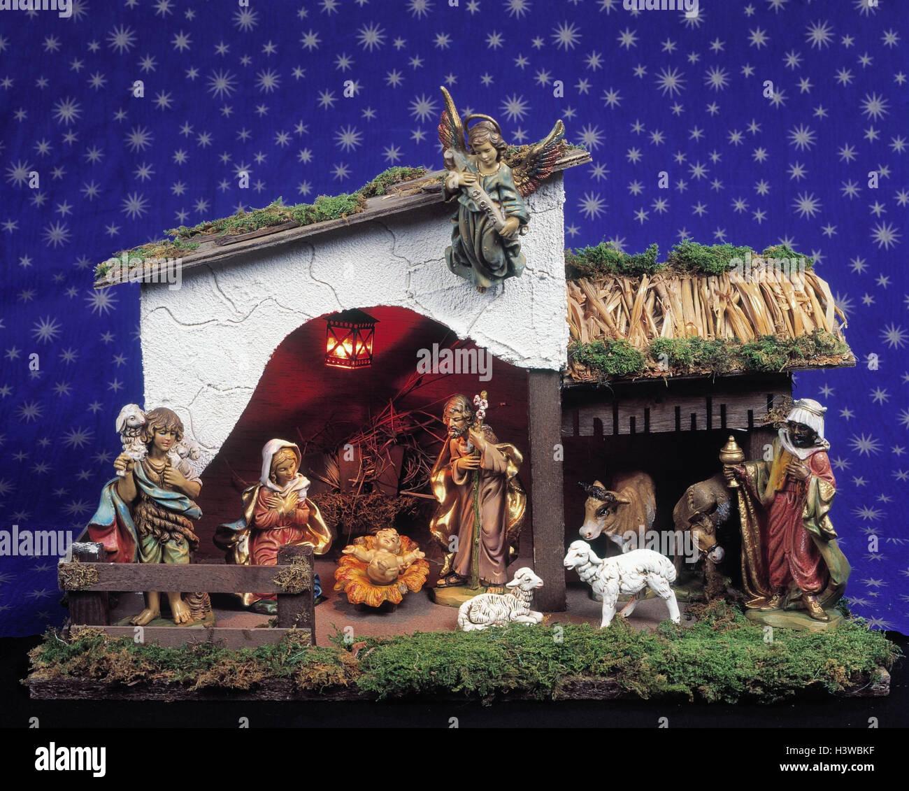 Bilder Krippe Weihnachten.Kinderkrippe Krippe Weihnachten Stabile Bethlehem Heilige