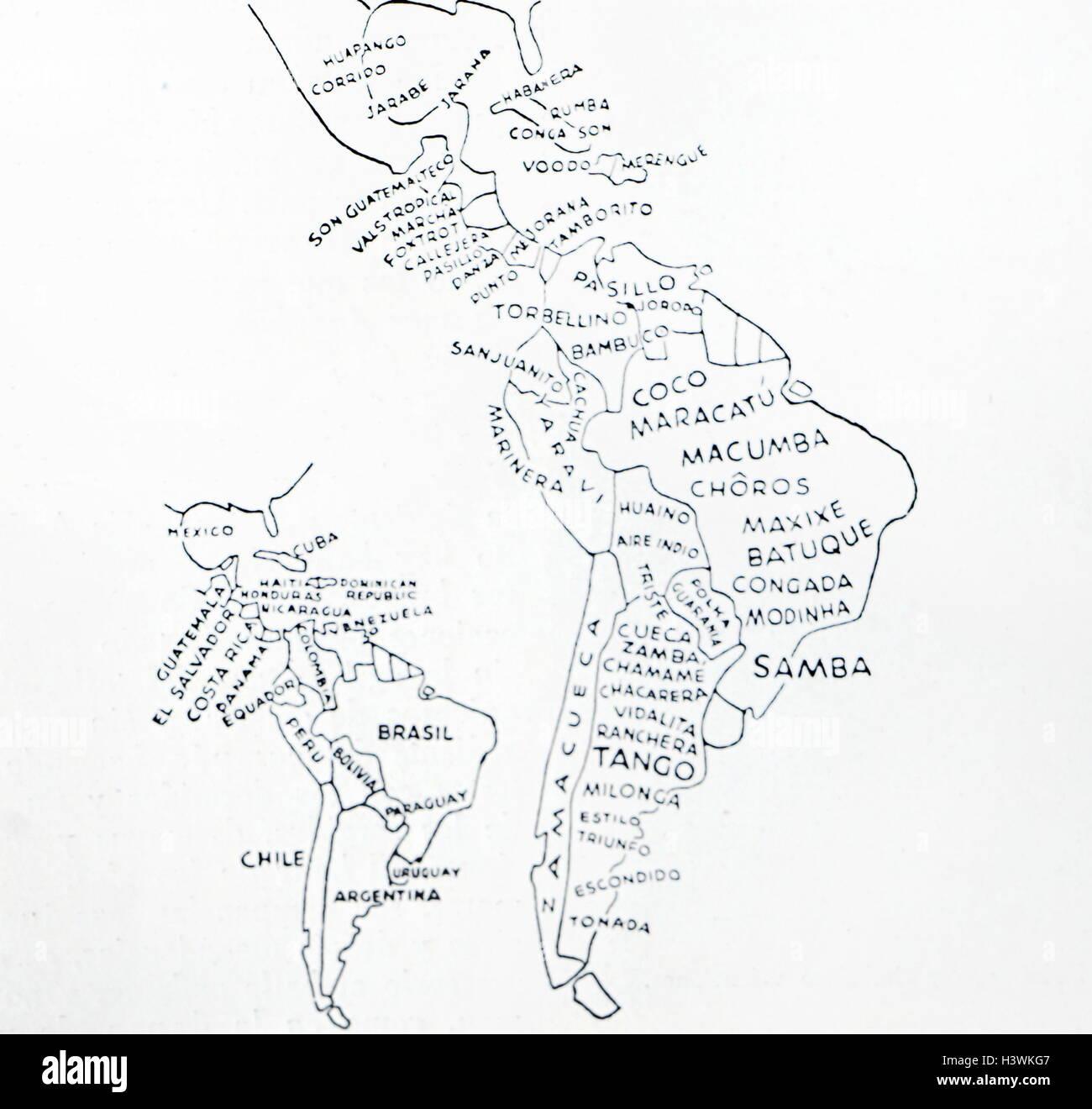 South America Countries Map Stockfotos & South America ...