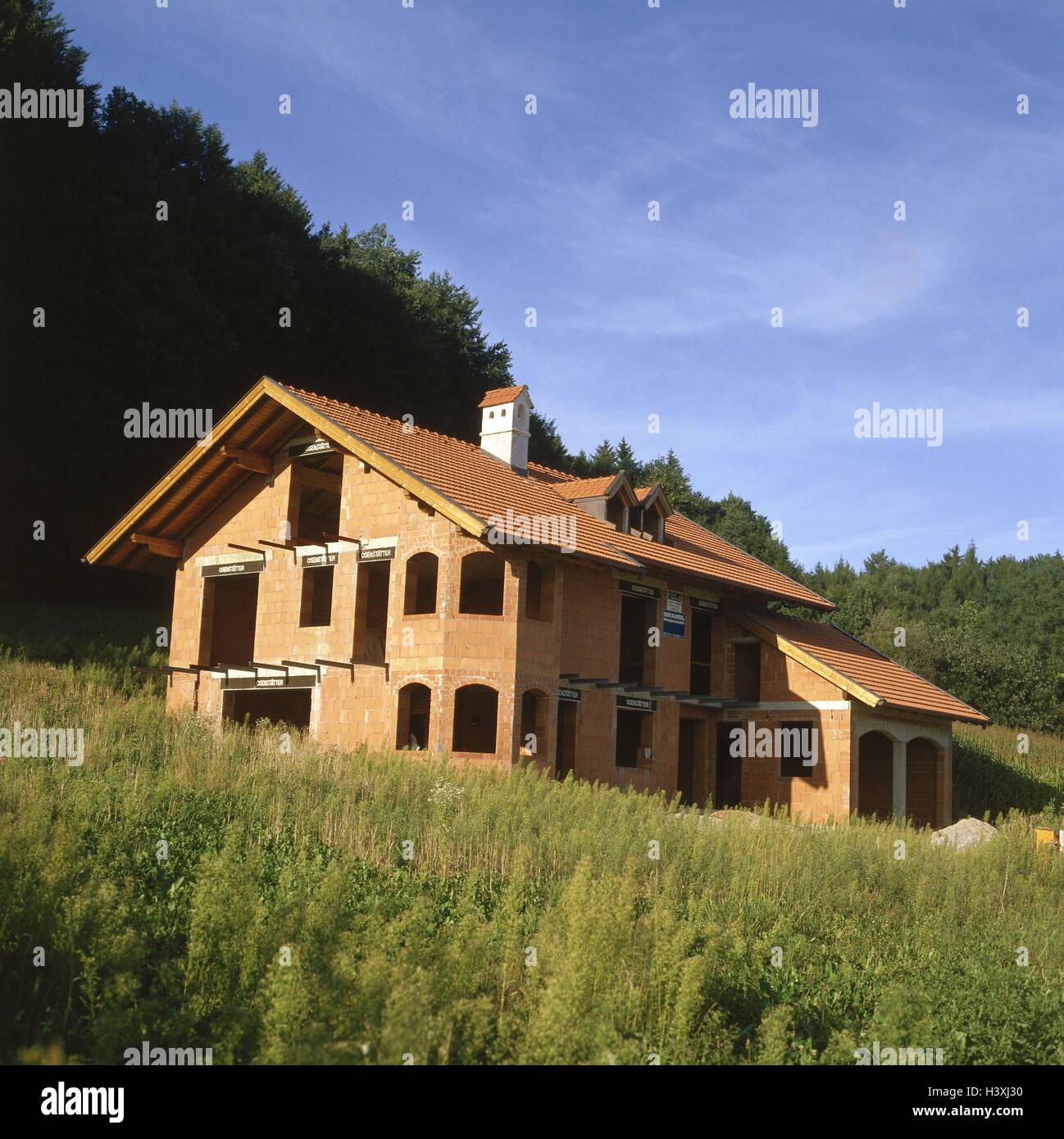 Wohnhaus Bauen einfamilienhaus garage shell haus bau ein haus bau bauen