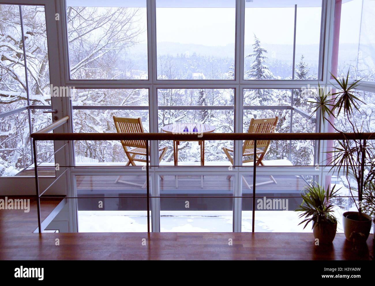 Hervorragend Galerie Wohnung, Balkon, Fensterfront, Ansicht, Erinnerungsbild, Wohnung,  Können Sonette, Rekonstruktion, Haus, Wohn Stil, Einfach, Einfach, Konzept,  ...