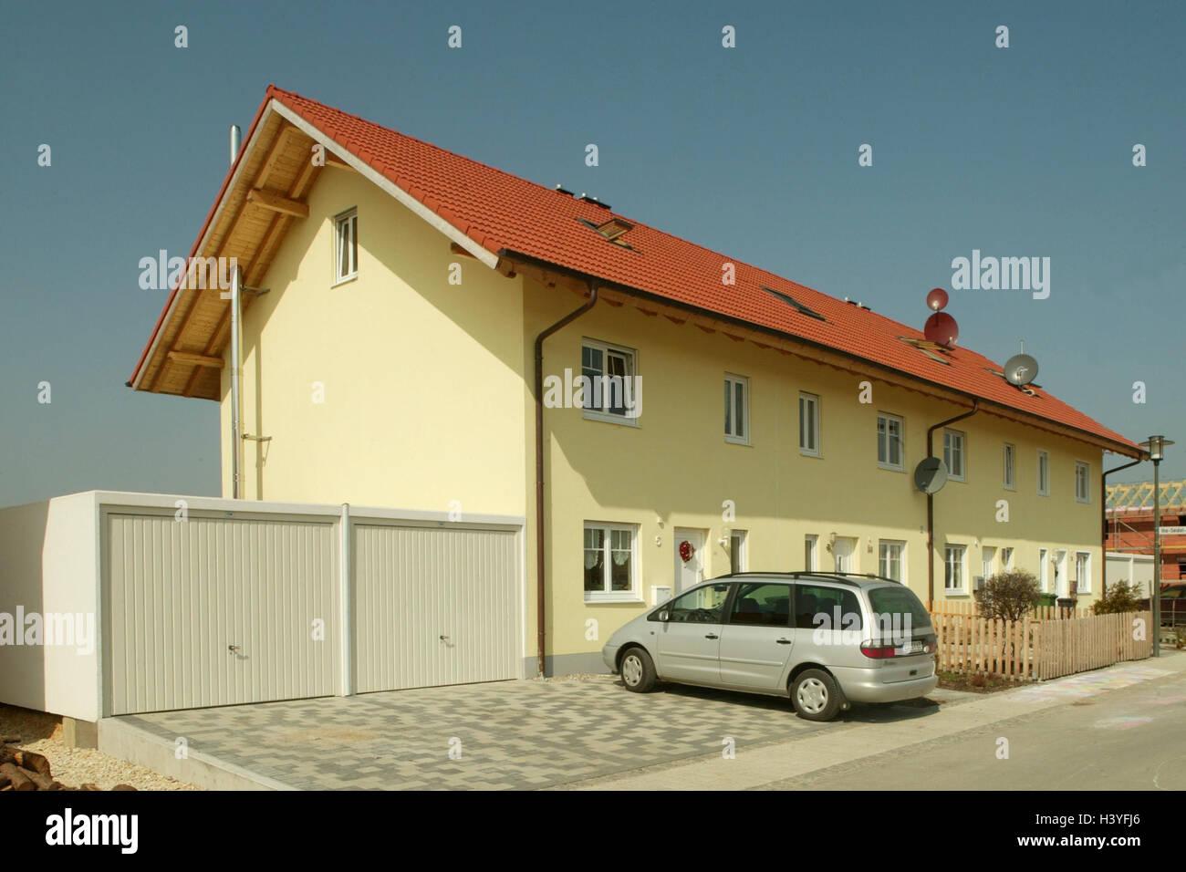 Wunderbar Garage Am Haus Beste Wahl , Garage, Parkplatz, Pkw Auto Wohngebiet, ,