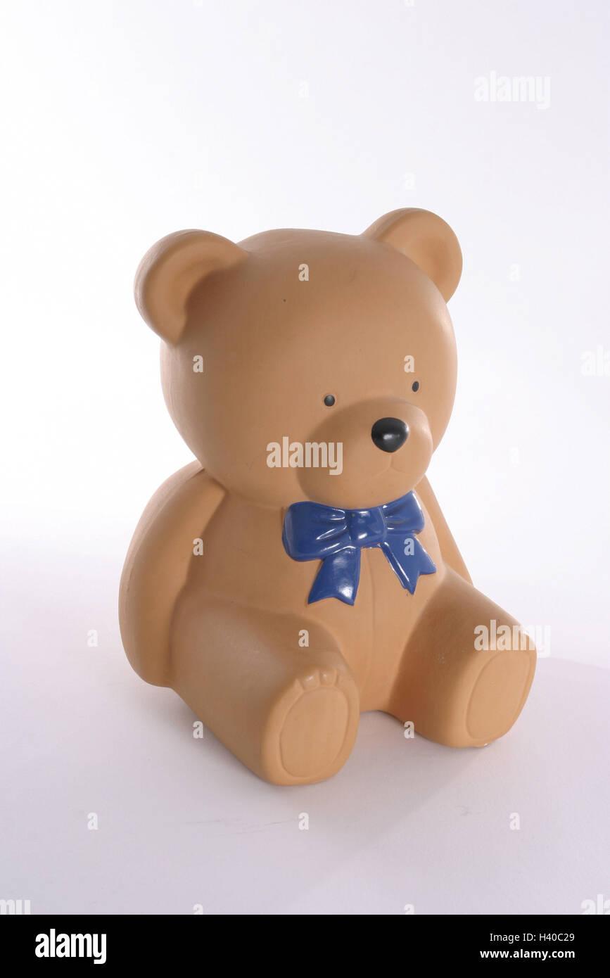 Ton, Bild, Bär Figur, Ton Gefäß, Spielzeug, Teddybär, Teddy ...