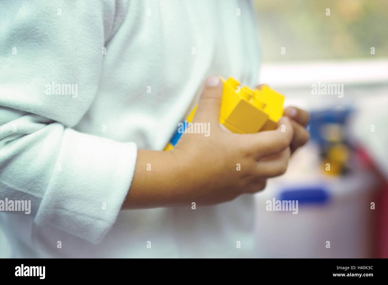 Kinderhände, Komponenten, halten, junge, Detail, Hände, 2 ...
