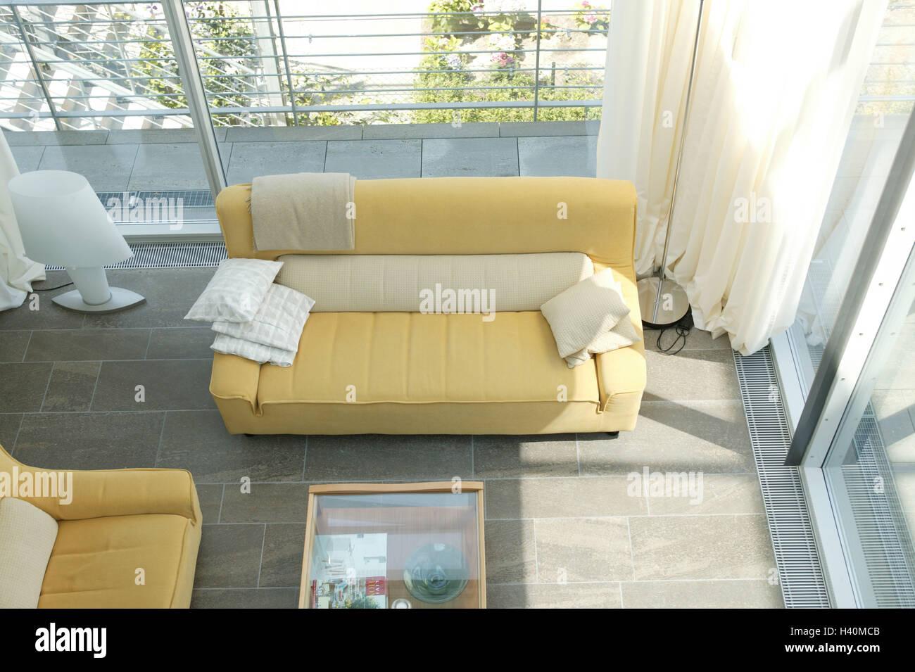 Unglaublich Sofa Wohnzimmer Beste Wahl Wohnzimmer, Panoramafenster, Couch, Von Oben, Immobilien, Neubau,