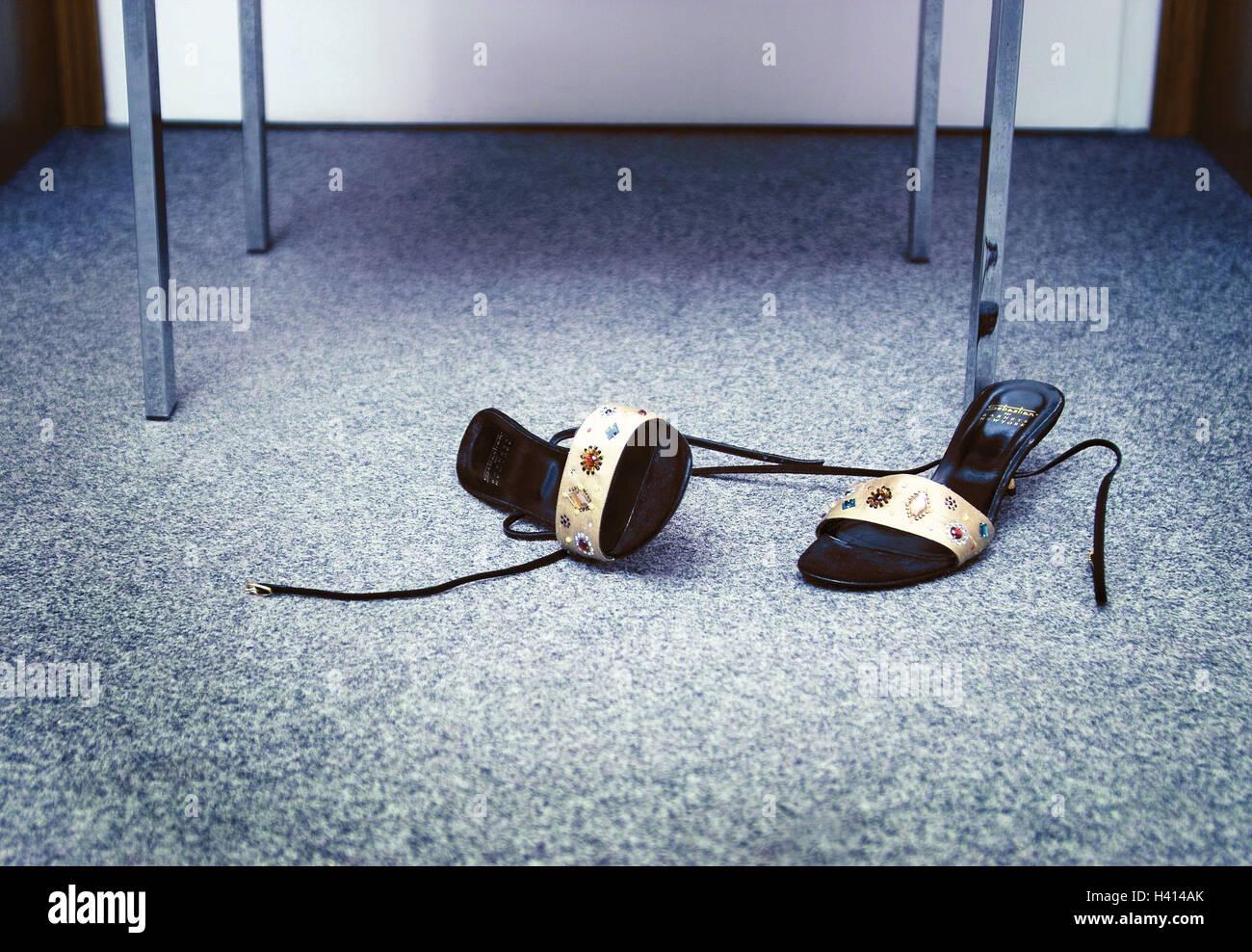 Teppichboden Fussboden Damenschuhe Buro Teppich Boden Stuhl