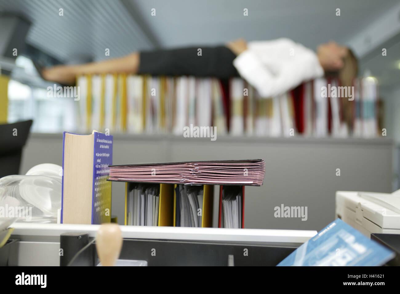 Schreibtisch Grundlagen Hintergrund Buro Schrank Ordner