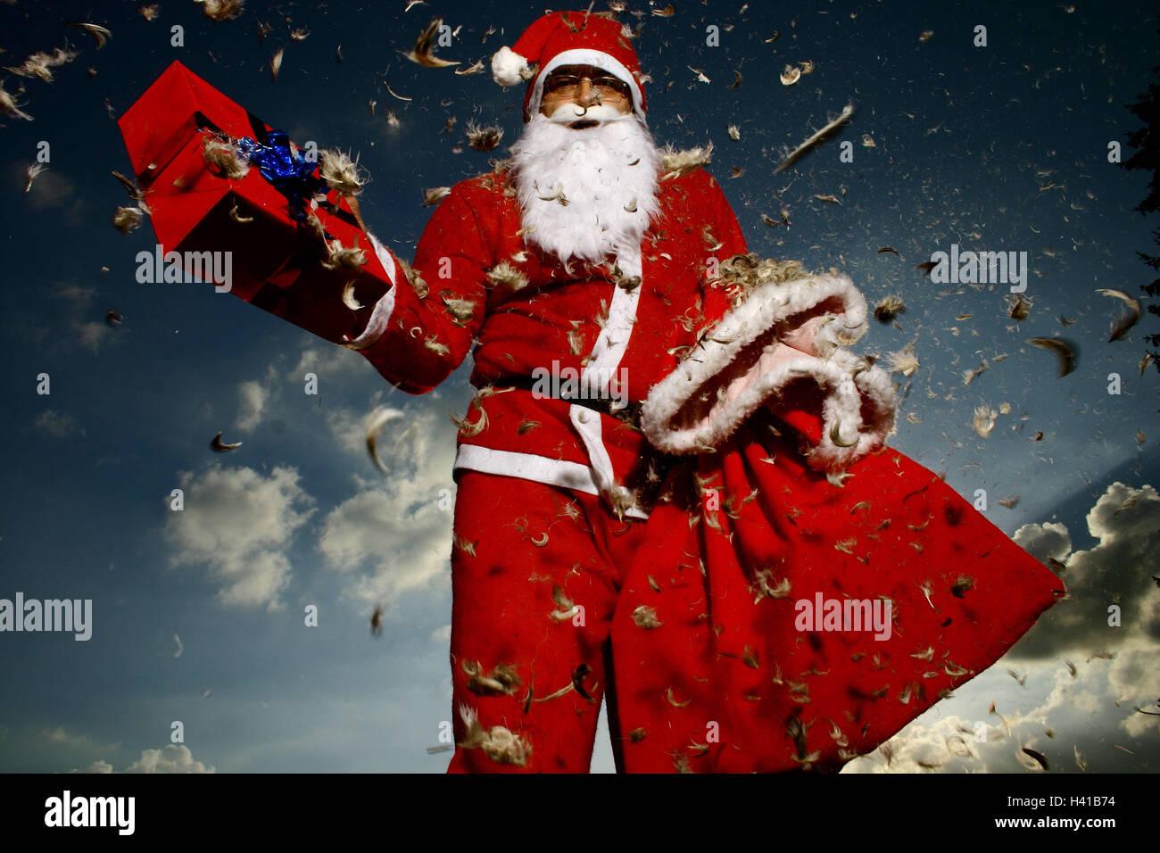 Weihnachten, Weihnachts-Arrangement, Weihnachtsgeschenk ...