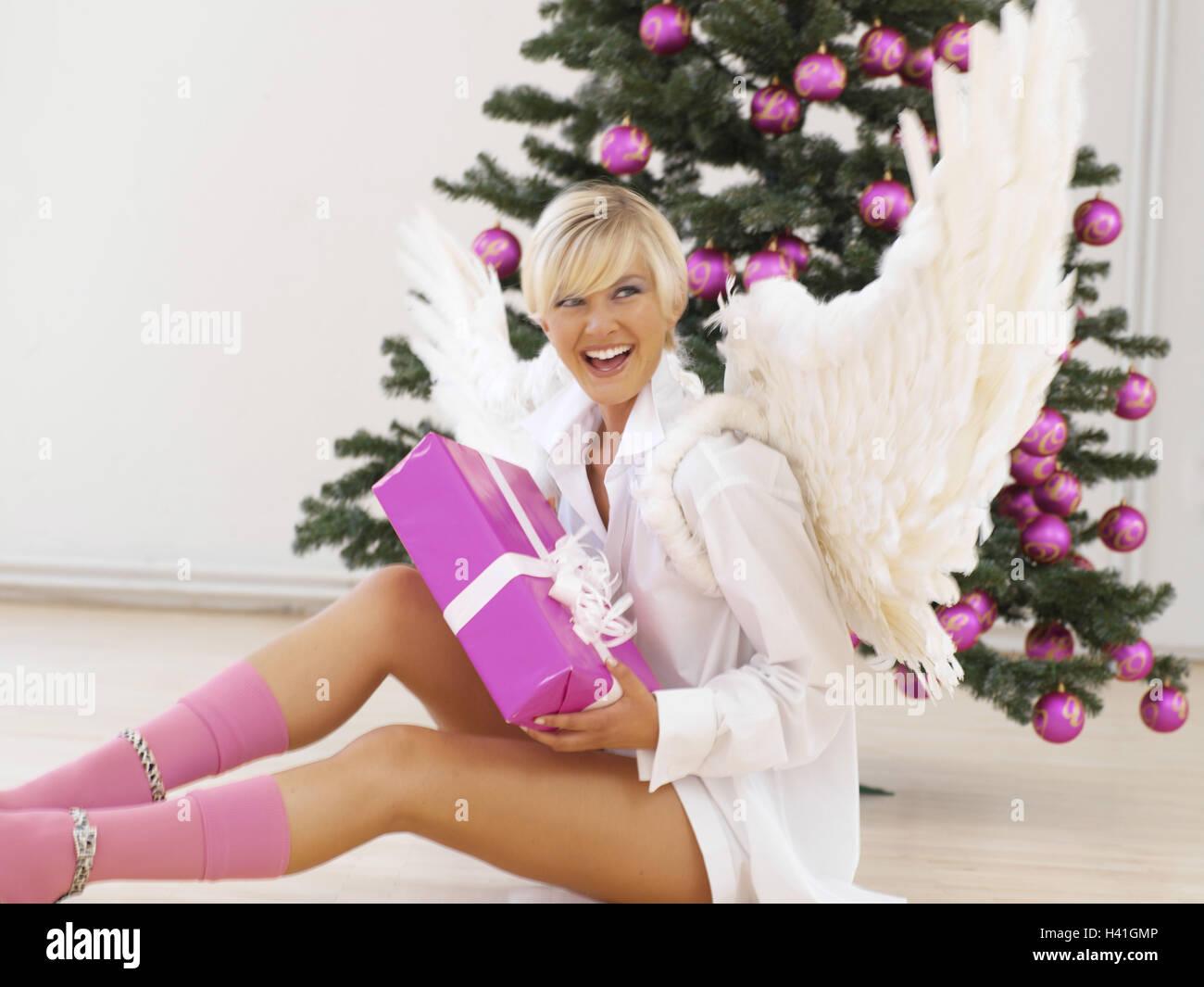Frau Engels Flügel Geschenk Weihnachtsbaum Engel