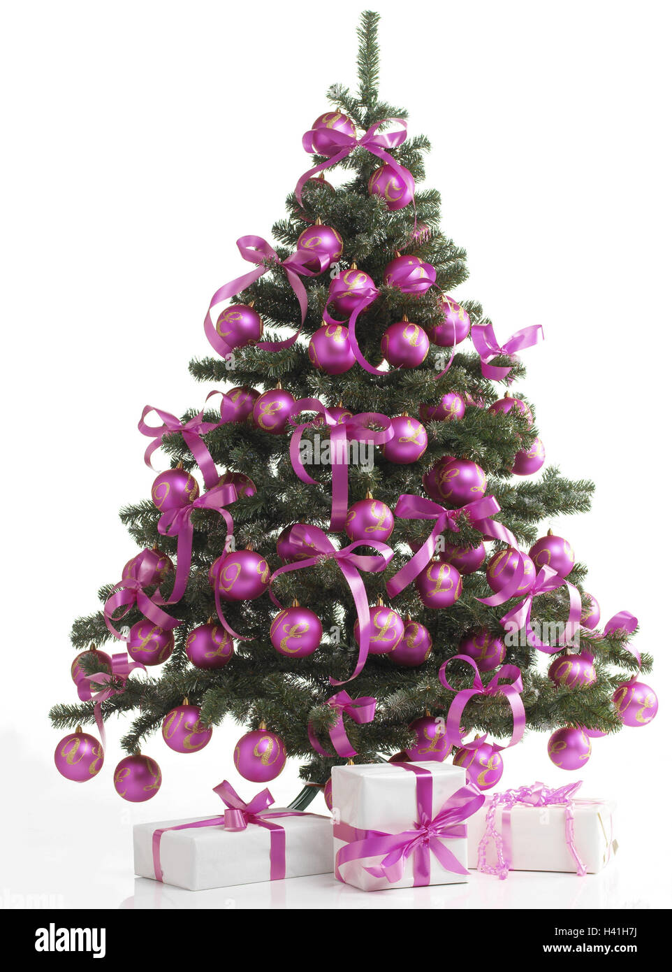 Weihnachtsbaum, Weihnachtsgeschenke, Stillleben, Weihnachten ...