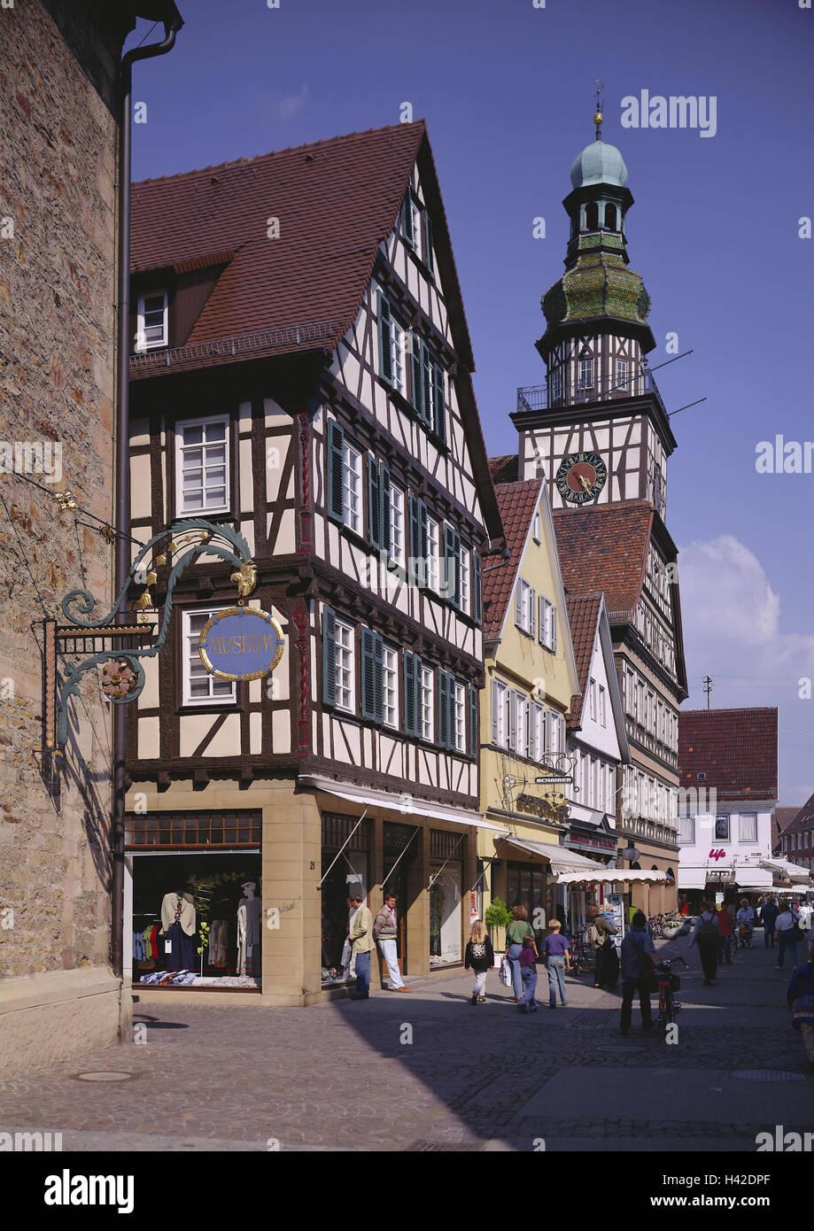 Deutschland schwäbische Albtraum Kirchheim Teck