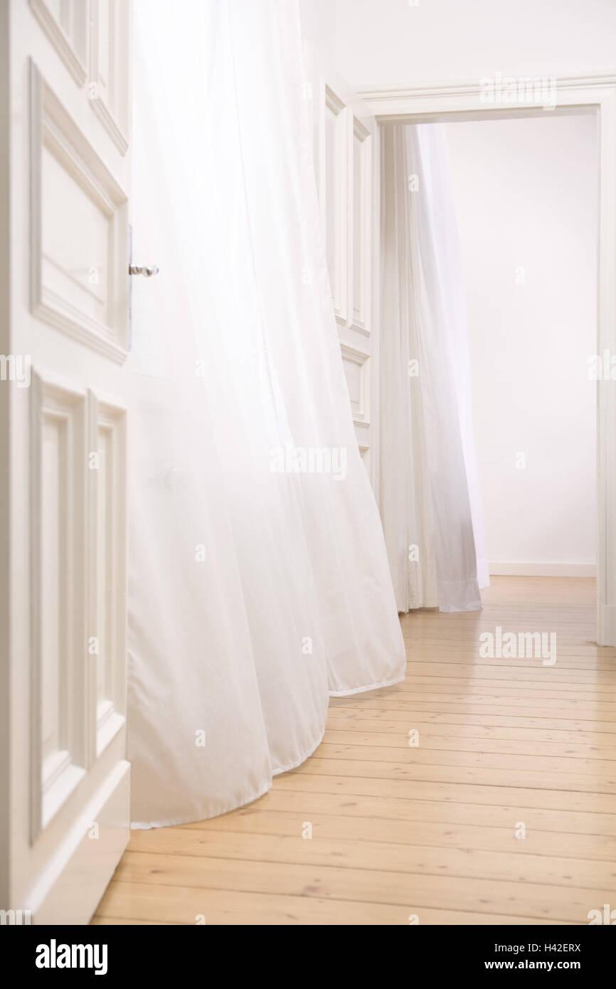 Wohnung Leere Turen Ehrlich Gesagt Vorhange Blast Raume